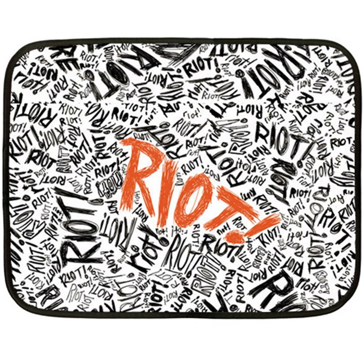 Paramore Is An American Rock Band Fleece Blanket (Mini)