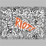 Paramore Is An American Rock Band Canvas 18  x 12  18  x 12  x 0.875  Stretched Canvas