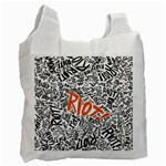 Paramore Is An American Rock Band Recycle Bag (Two Side)  Front
