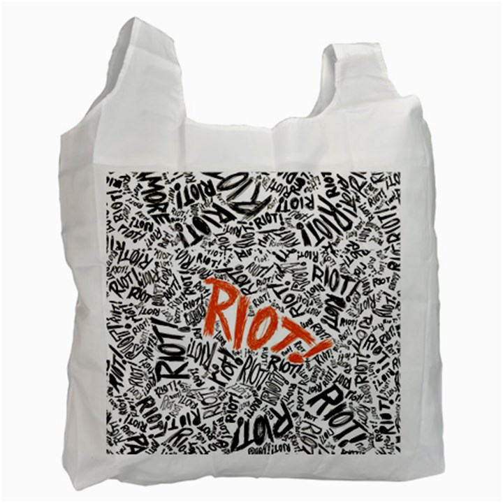 Paramore Is An American Rock Band Recycle Bag (Two Side)