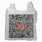 Paramore Is An American Rock Band Recycle Bag (Two Side)  Back