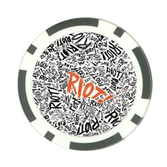 Paramore Is An American Rock Band Poker Chip Card Guards (10 Pack)