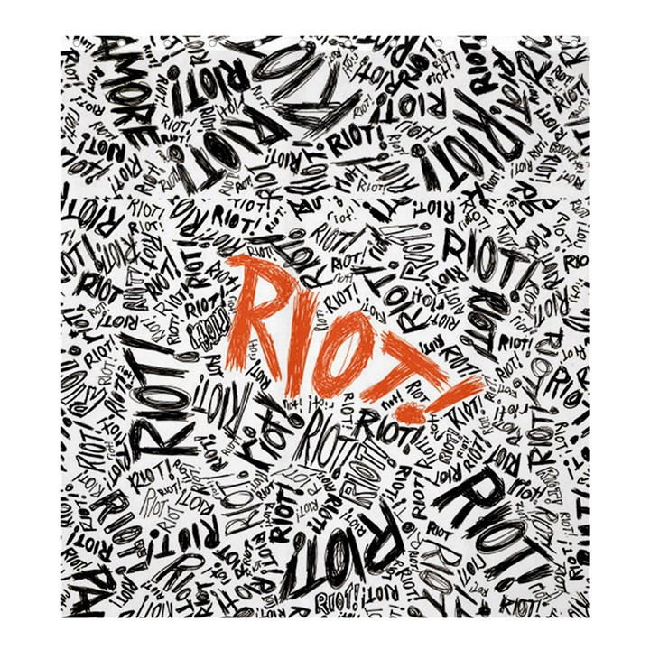 Paramore Is An American Rock Band Shower Curtain 66  x 72  (Large)