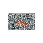 Paramore Is An American Rock Band Cosmetic Bag (Small)  Front