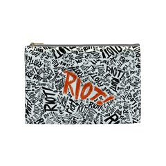 Paramore Is An American Rock Band Cosmetic Bag (Medium)