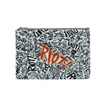 Paramore Is An American Rock Band Cosmetic Bag (Medium)  Front