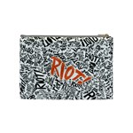 Paramore Is An American Rock Band Cosmetic Bag (Medium)  Back