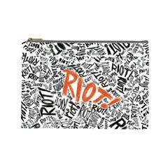 Paramore Is An American Rock Band Cosmetic Bag (Large)