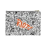 Paramore Is An American Rock Band Cosmetic Bag (Large)  Back