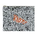 Paramore Is An American Rock Band Cosmetic Bag (XL) Front