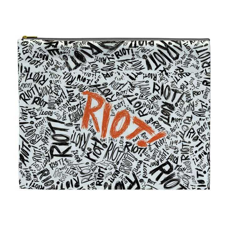 Paramore Is An American Rock Band Cosmetic Bag (XL)