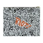 Paramore Is An American Rock Band Cosmetic Bag (XL) Back