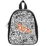 Paramore Is An American Rock Band School Bags (Small)  Front