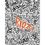 Paramore Is An American Rock Band Large Memo Pads 4.125 x5.5  Memopad