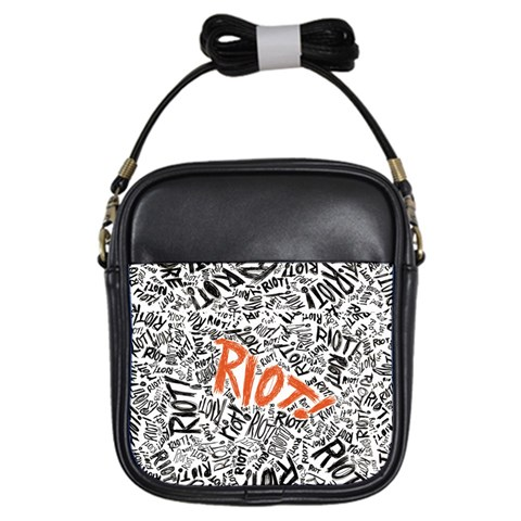 Paramore Is An American Rock Band Girls Sling Bags
