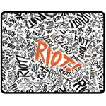 Paramore Is An American Rock Band Fleece Blanket (Medium)  60 x50 Blanket Front