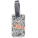Paramore Is An American Rock Band Luggage Tags (Two Sides) Back