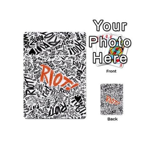 Paramore Is An American Rock Band Playing Cards 54 (Mini)