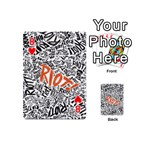 Paramore Is An American Rock Band Playing Cards 54 (Mini)  Front - Heart8