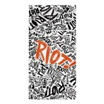 Paramore Is An American Rock Band Shower Curtain 36  x 72  (Stall)  33.26 x66.24 Curtain