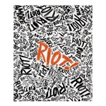 Paramore Is An American Rock Band Shower Curtain 60  x 72  (Medium)  54.25 x65.71 Curtain
