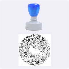 Paramore Is An American Rock Band Rubber Round Stamps (medium)