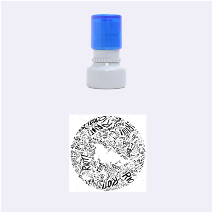 Paramore Is An American Rock Band Rubber Round Stamps (Small)