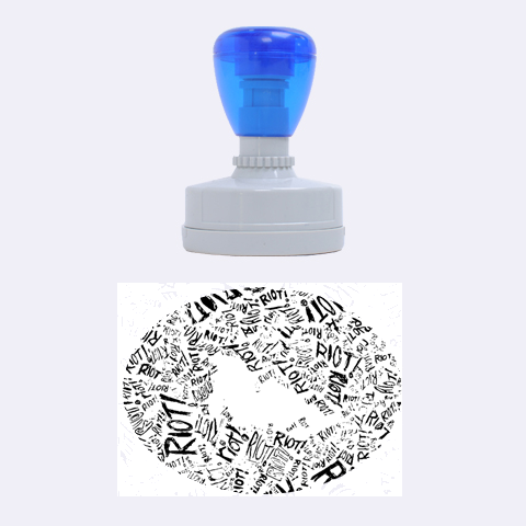 Paramore Is An American Rock Band Rubber Oval Stamps