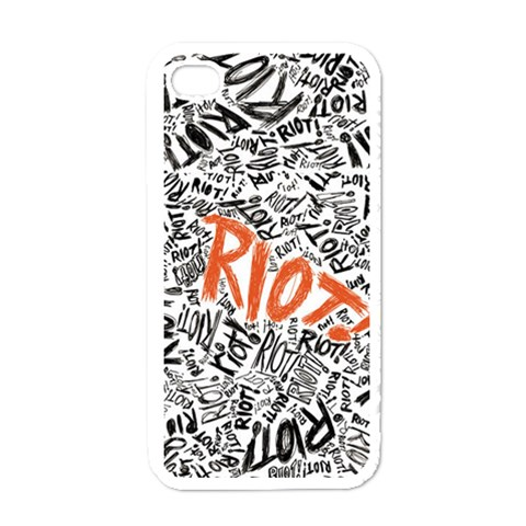 Paramore Is An American Rock Band Apple iPhone 4 Case (White)