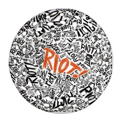 Paramore Is An American Rock Band Ornament (Round Filigree)