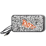 Paramore Is An American Rock Band Portable Speaker (Black)  Front
