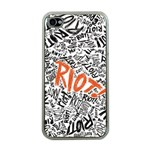 Paramore Is An American Rock Band Apple iPhone 4 Case (Clear) Front