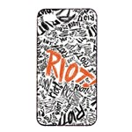 Paramore Is An American Rock Band Apple iPhone 4/4s Seamless Case (Black) Front