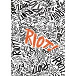 Paramore Is An American Rock Band Circle Bottom 3D Greeting Card (7x5) Inside