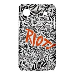 Paramore Is An American Rock Band Samsung Galaxy SL i9003 Hardshell Case