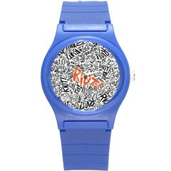 Paramore Is An American Rock Band Round Plastic Sport Watch (s)