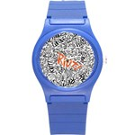 Paramore Is An American Rock Band Round Plastic Sport Watch (S) Front