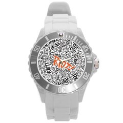 Paramore Is An American Rock Band Round Plastic Sport Watch (l)