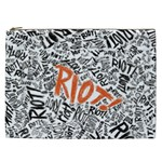Paramore Is An American Rock Band Cosmetic Bag (XXL)  Front