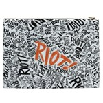 Paramore Is An American Rock Band Cosmetic Bag (XXL)  Back