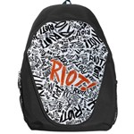 Paramore Is An American Rock Band Backpack Bag Front