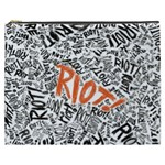 Paramore Is An American Rock Band Cosmetic Bag (XXXL)  Front
