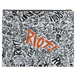 Paramore Is An American Rock Band Cosmetic Bag (XXXL)  Back