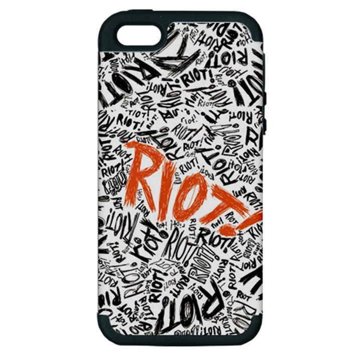 Paramore Is An American Rock Band Apple iPhone 5 Hardshell Case (PC+Silicone)