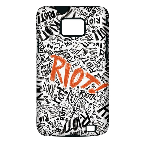 Paramore Is An American Rock Band Samsung Galaxy S II i9100 Hardshell Case (PC+Silicone)