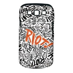 Paramore Is An American Rock Band Samsung Galaxy S III Classic Hardshell Case (PC+Silicone)