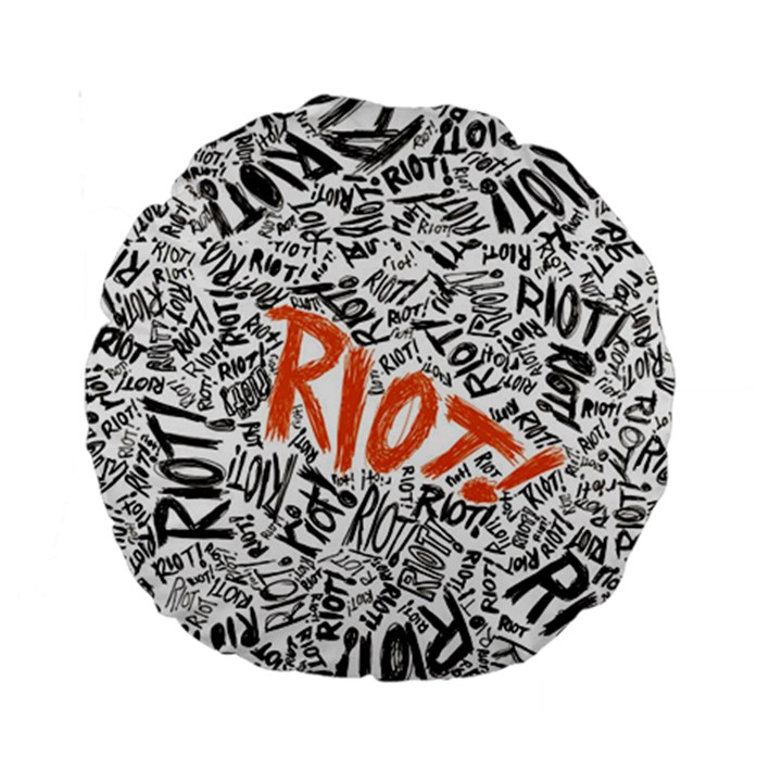 Paramore Is An American Rock Band Standard 15  Premium Round Cushions