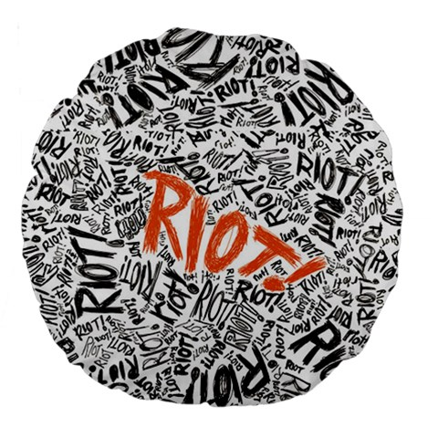 Paramore Is An American Rock Band Large 18  Premium Round Cushions