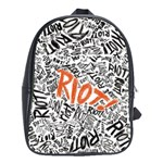 Paramore Is An American Rock Band School Bags (XL)  Front