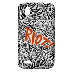 Paramore Is An American Rock Band HTC Desire V (T328W) Hardshell Case